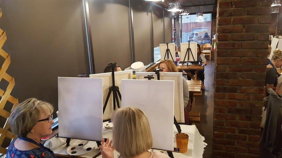 Crazy Canvas at Grumps Cleburne