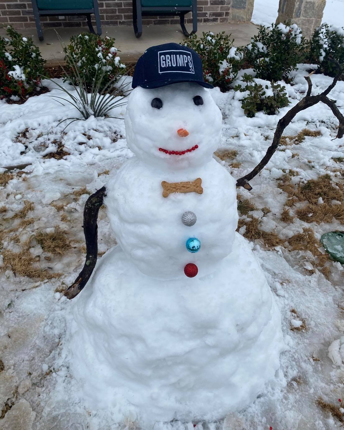 Grumps-snowman