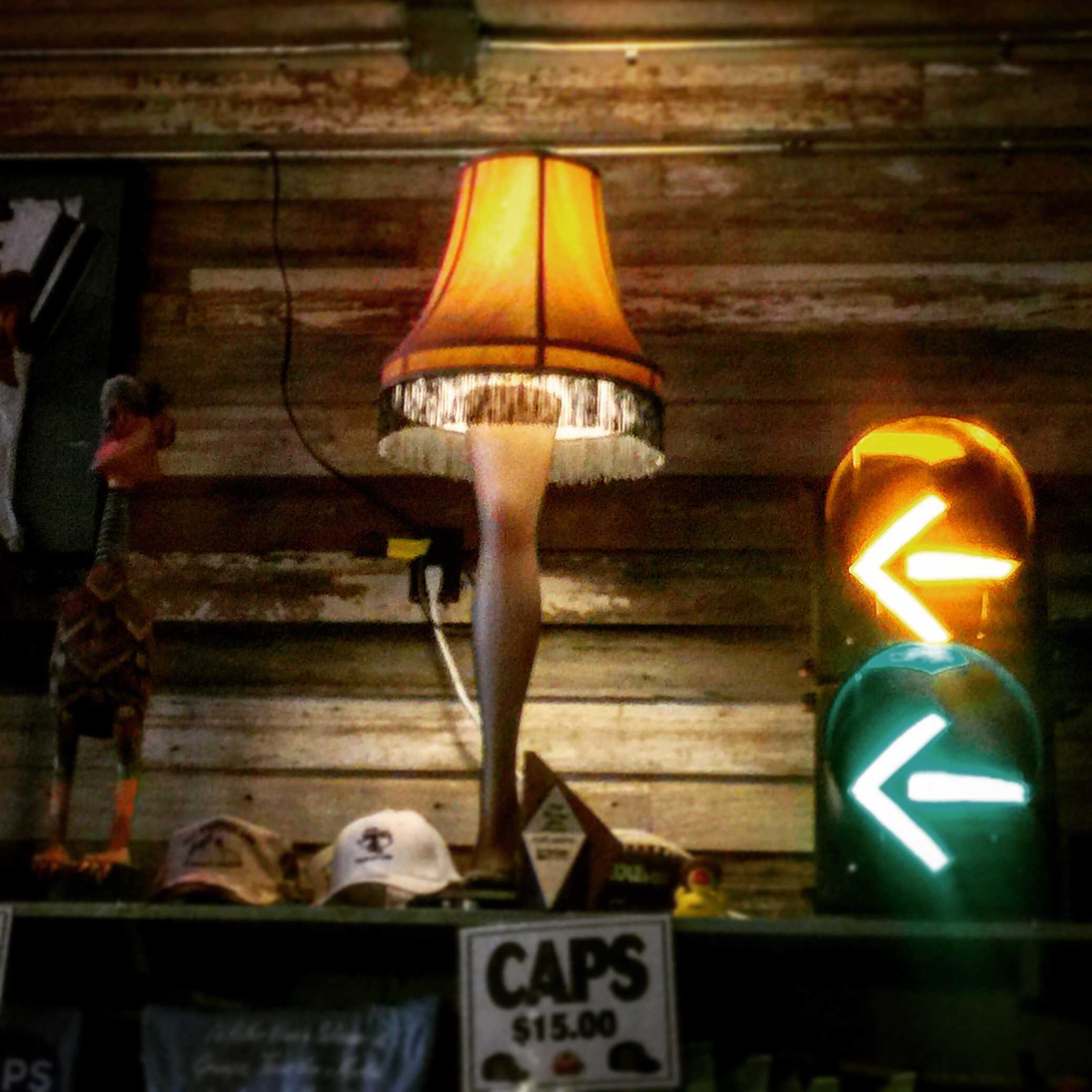 Who doesn't have a leg lamp??!
