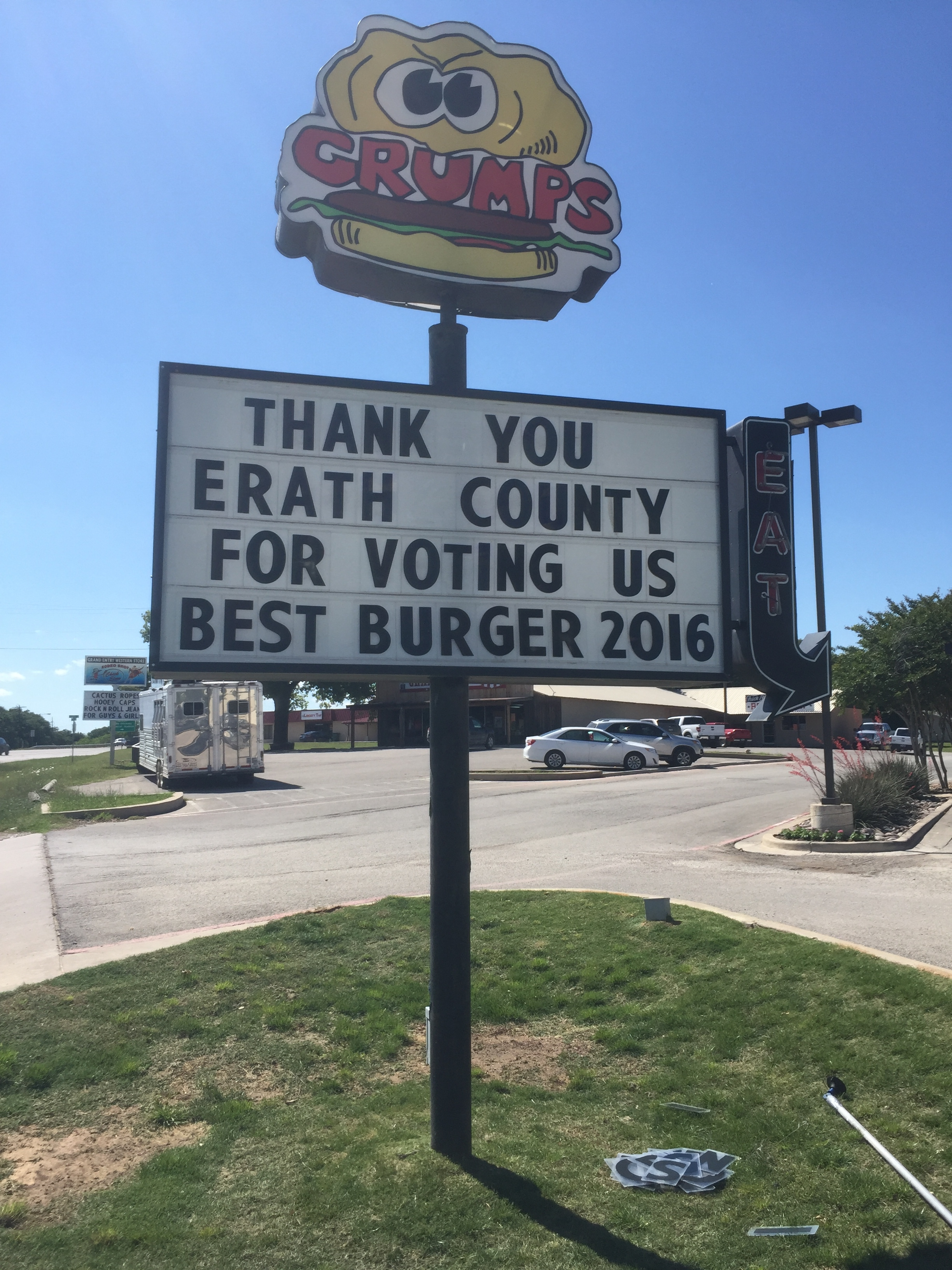 Thank you Erath County!