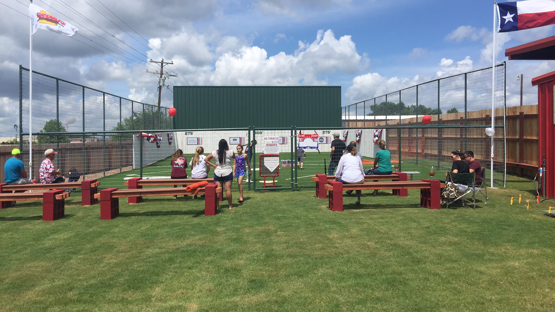 Opening Day of The BurgerPark in Granbury