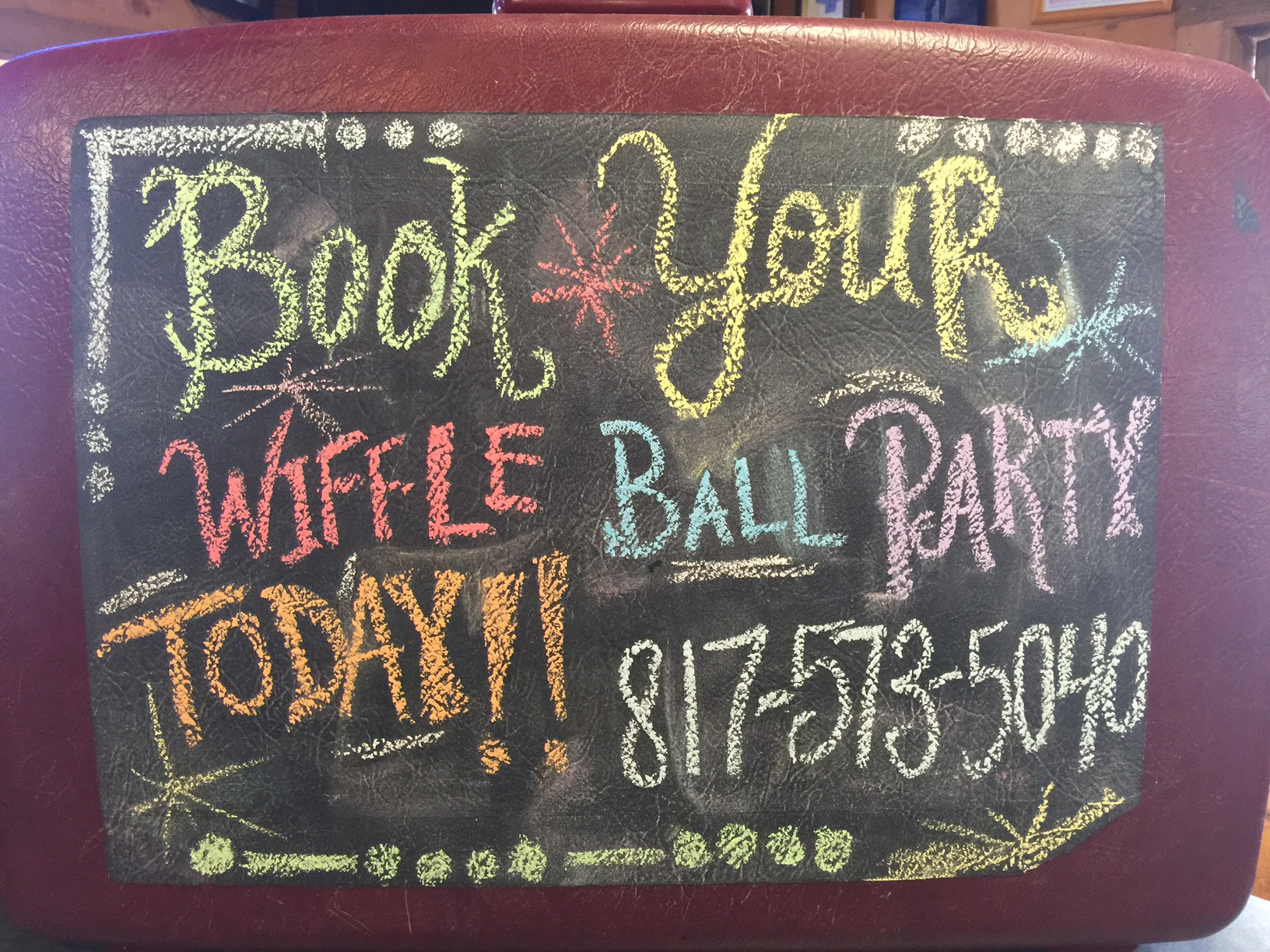 Book Your Wiffle Ball Party!!