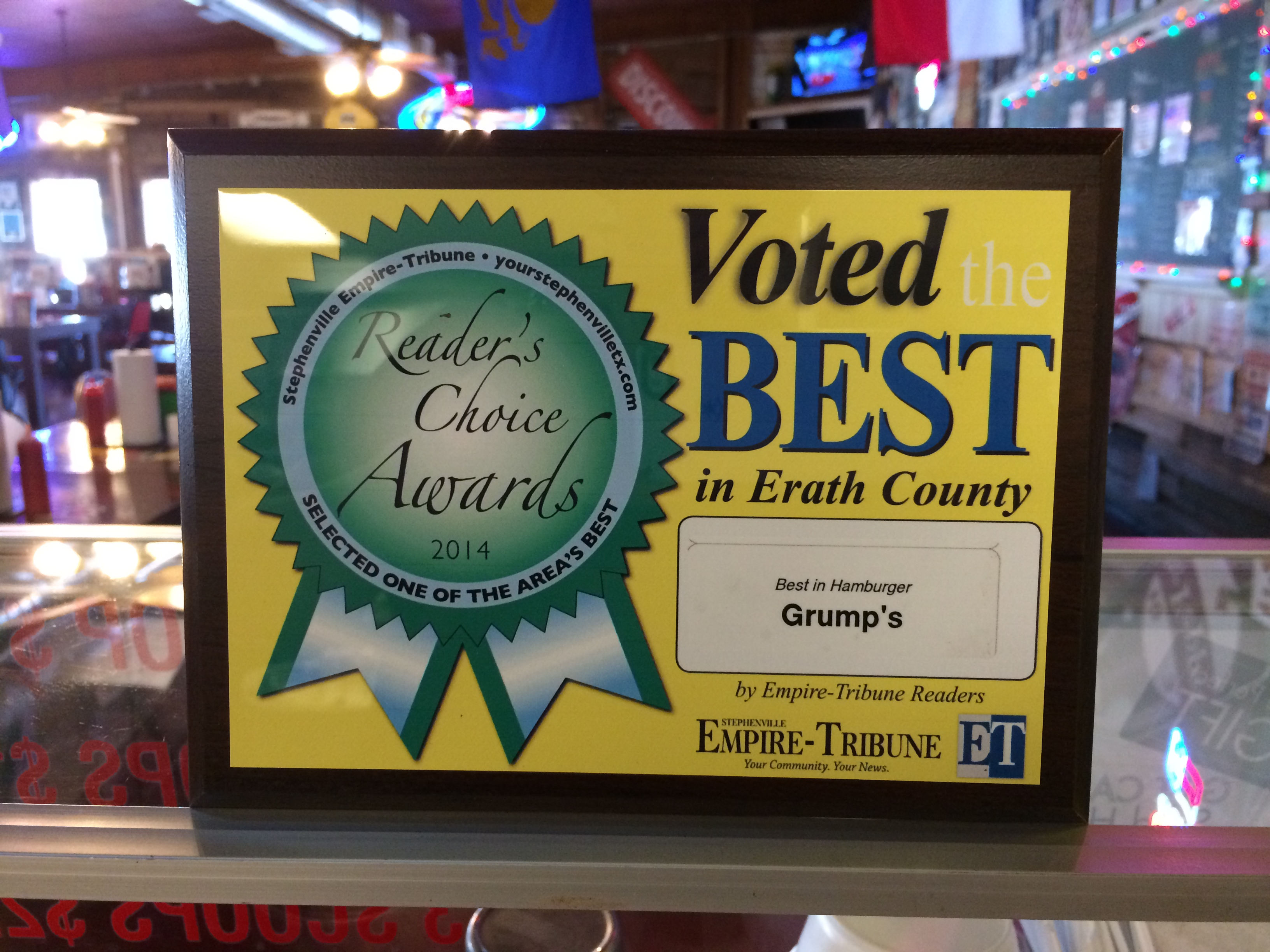 Voted Best of Erath County!