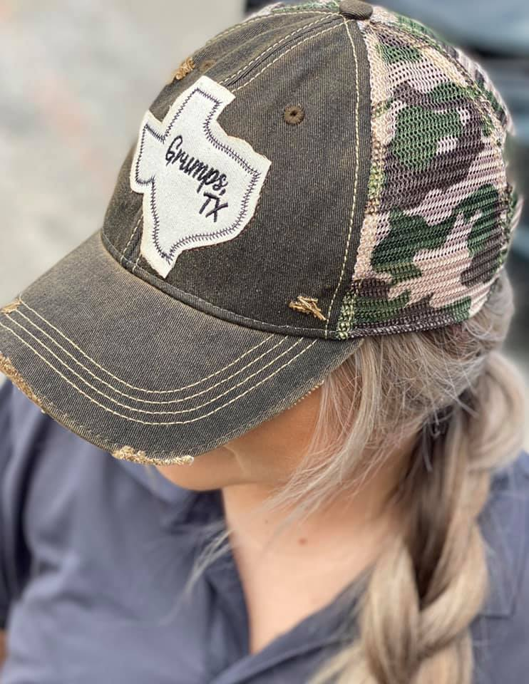 Camo Hats are In!