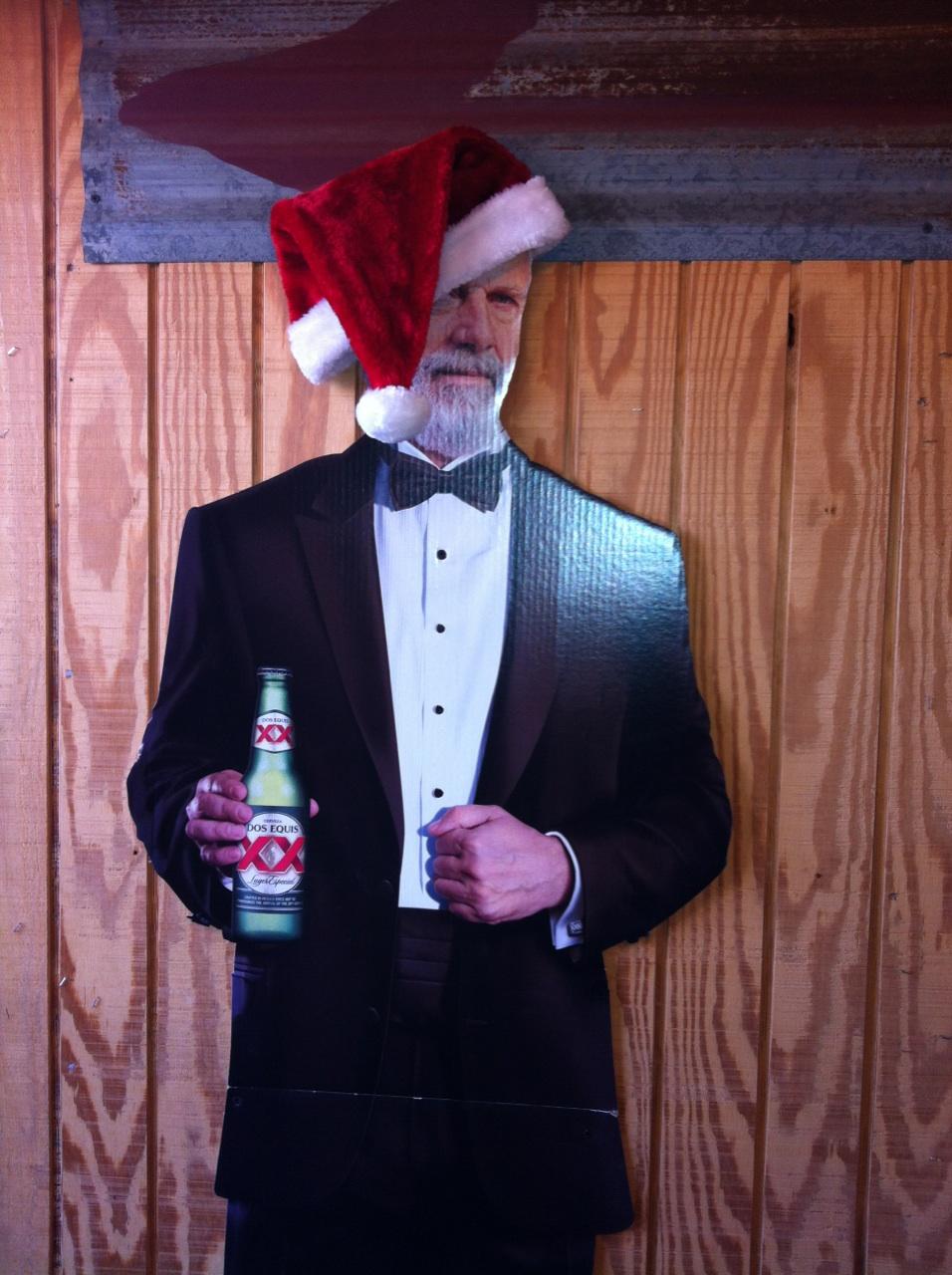 I don't always wear a santa hat...