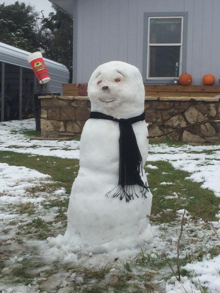 grumps snowman