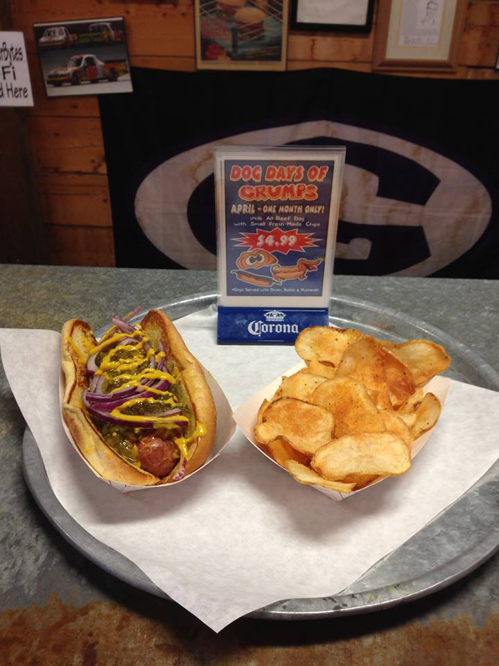 hot dog, hot dog, hot diggity dog!