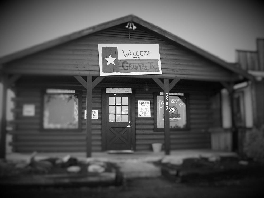 The original Grumps Burgers in Granbury, TX